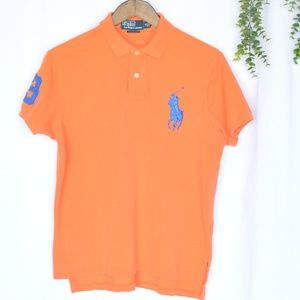 Polo by Ralph Lauren Big Pony Mesh Polo Shirt